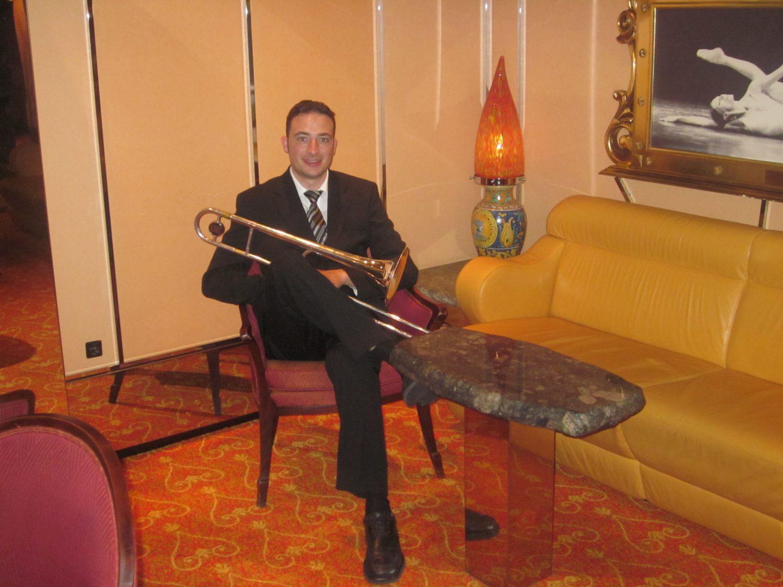Auftritt Jazzquintett