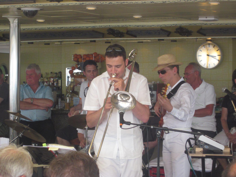 Jazz auf Mittelmeerkreuzfahrt
